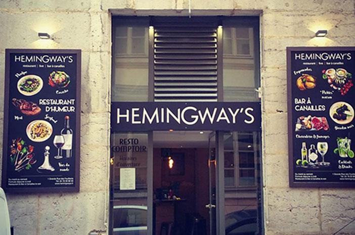Ouverture du restaurant Hemingway's