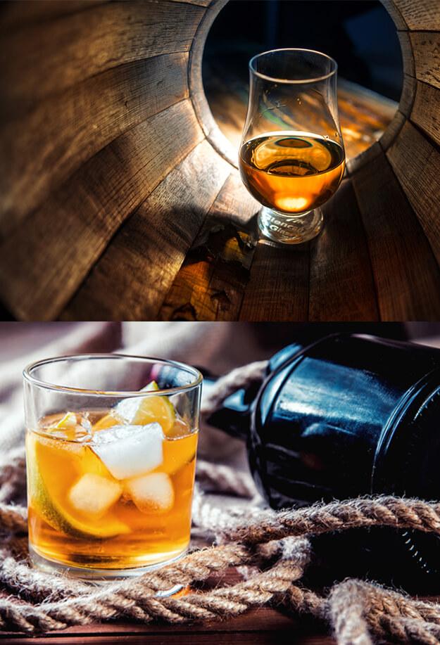 whisky-rhum